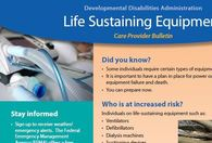 Life Sustaining Equipment Bulletin