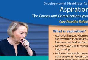 Aspiration Care Provider Bulletin