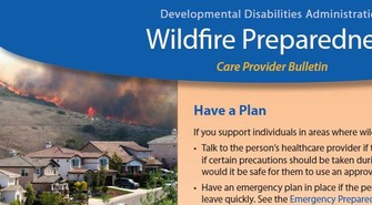 Wildfire Preparation Bulletin