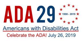 ADA 29th Anniversary logo