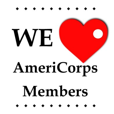 "Image, ""We [heart] AmeriCorps Members"""