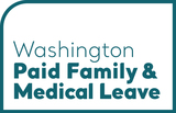 Image depicts Paid Family and Medical Leave wordmark