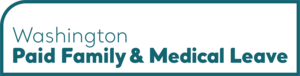 Wordmark of the Paid Family and Medical Leave logo