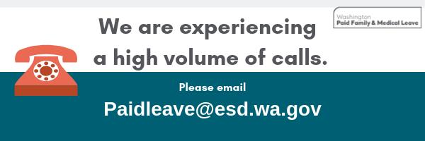 High call volume banner 2