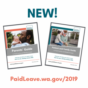 Image depicts the covers of the Parents' Guide and Patient and Family Guide