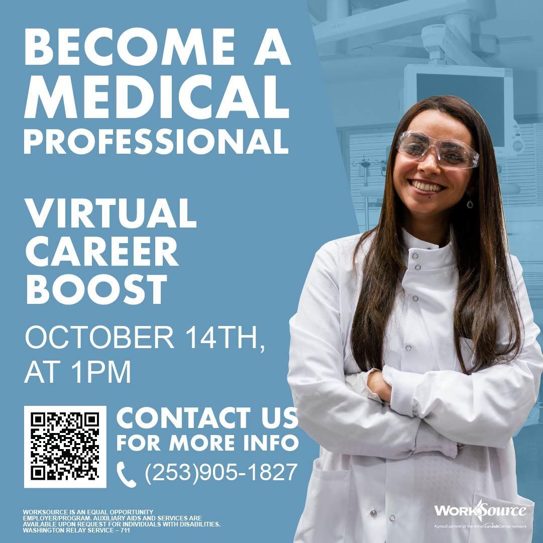 Medical Career Boost flyer