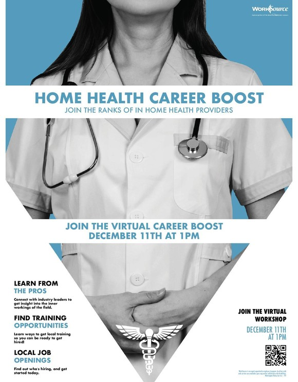 Home Health Career Boost flyer