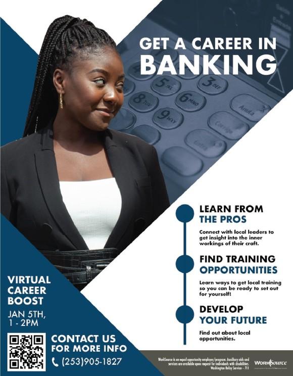 BankWorks Career Boost flyer