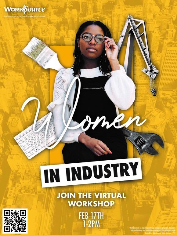 Women in Industry Career Boost