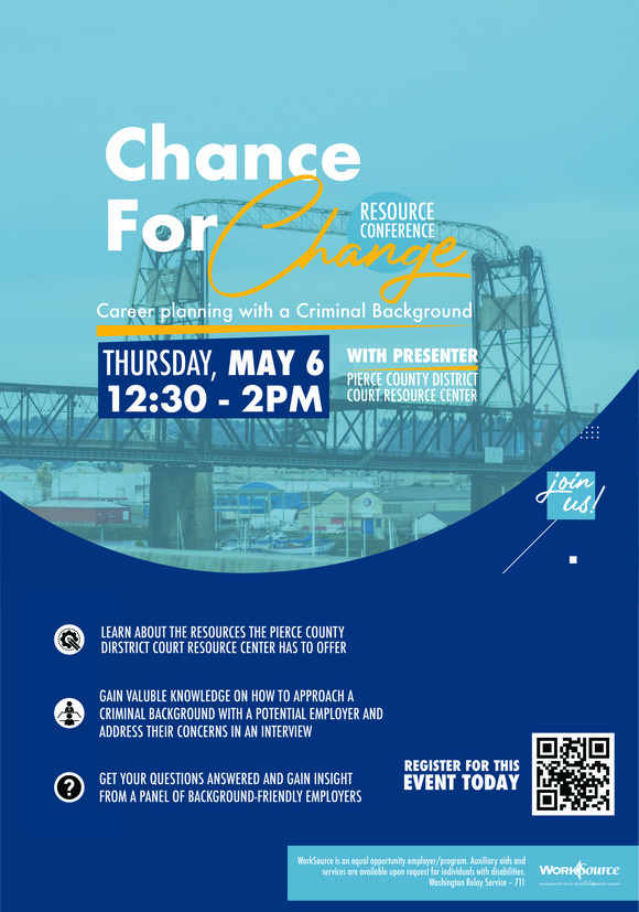 Chance for Change flyer