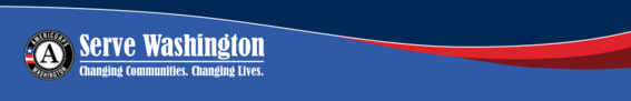 Serve Washington logo banner