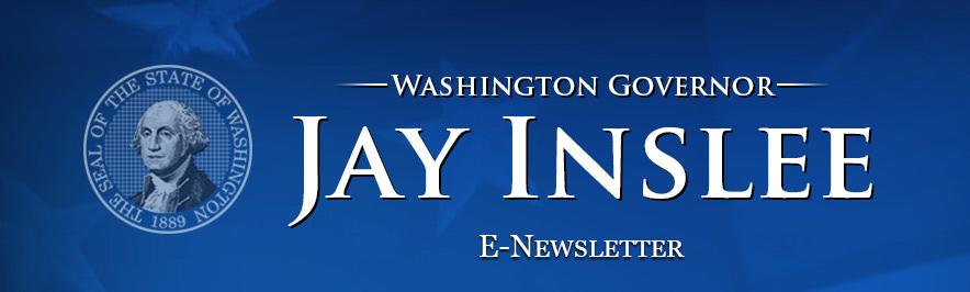 Washington Governor Jay Inslee - E-news