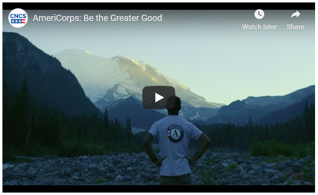 Be the greater good video