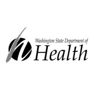 Image including the Washington State Department of Health text logo
