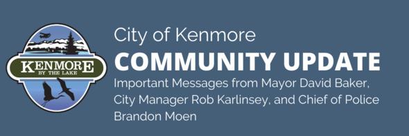 community update banner covid