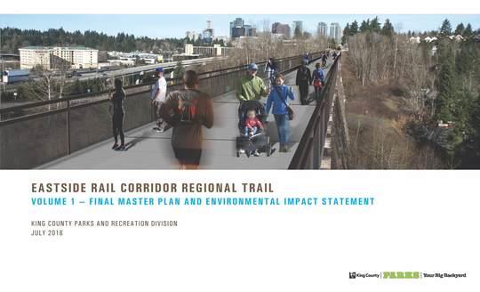 ERC Regional Trail Masterplan & EIS Cover Page
