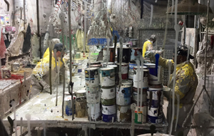 Metro Paint recycling tour