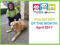 volunteer of the month - april 2017
