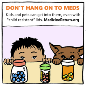 Kids and pets graphic