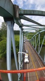 Under Bridge Inspection Truck