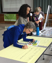 Skyway residents writing comments