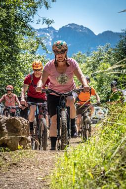 Alpine Baldy mountain bike trail