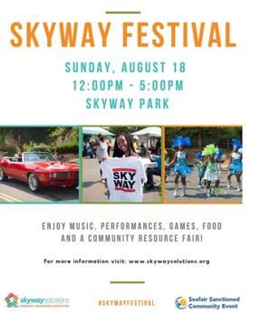 Skyway Festival poster