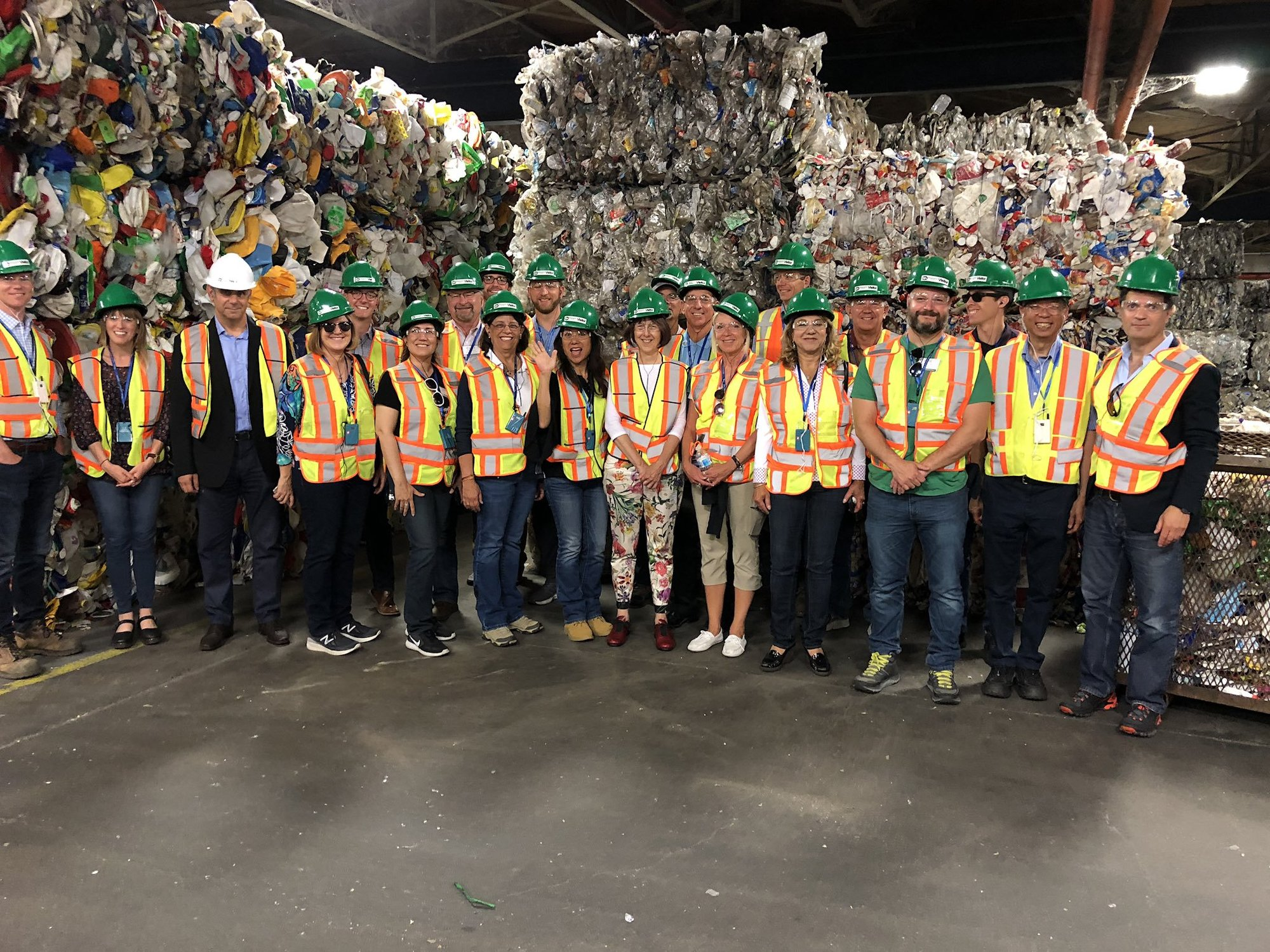 California CFEE visit to Recycle BC, via Fiona Ma
