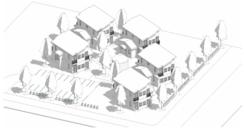 Rendering of homes
