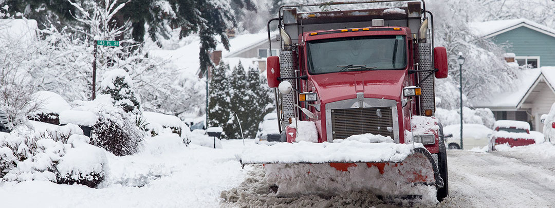 Snow plow (King County file photo)