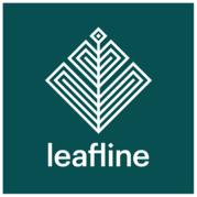 Leafline Trails sign