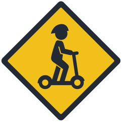 scooter graphic