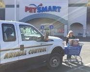 Lori at PetSmart