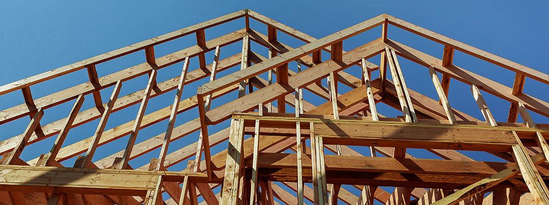 photo: house under construction