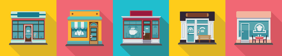 graphic: small business fronts