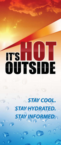 hot outside graphic