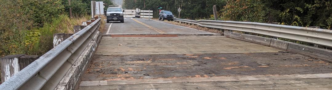 Berrydale Bridge planks