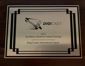 airport training award