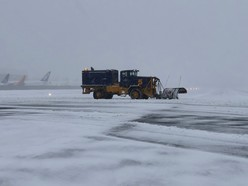 Snow clearing KCIA