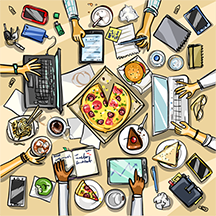 Lunch graphic