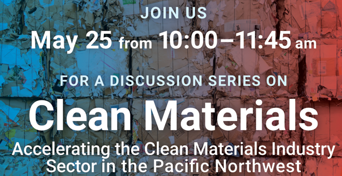 center for sustainable infrastructure clean materials webinar May 25