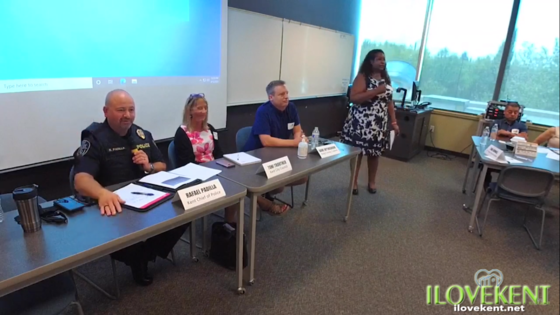 Kent Chamber Public Safety Discussion