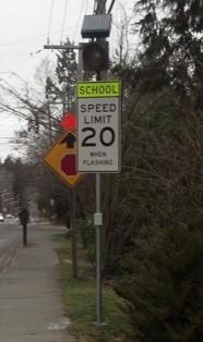 School Speed Zone