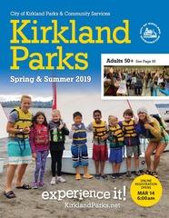 Parks brochure spring/summer 2019