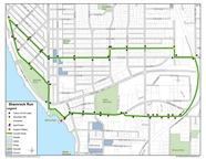 Shamrock Run course map