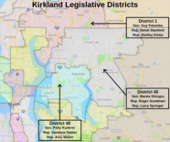 Legislative map