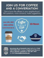 coffee with a cop june 2019