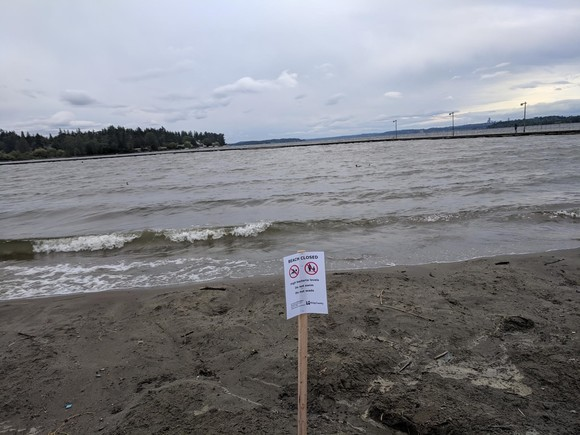 Juanita Beach Closure