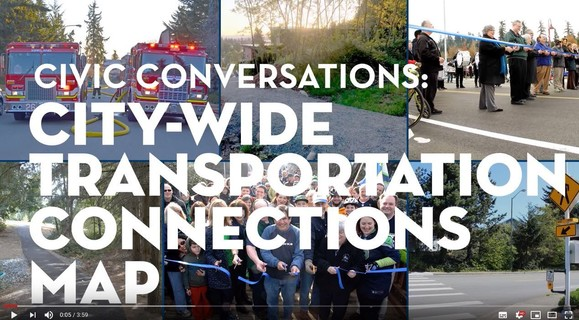 Citywide Transportation Connections Map Video