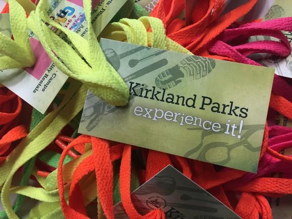 Kirkland Parks fun laces